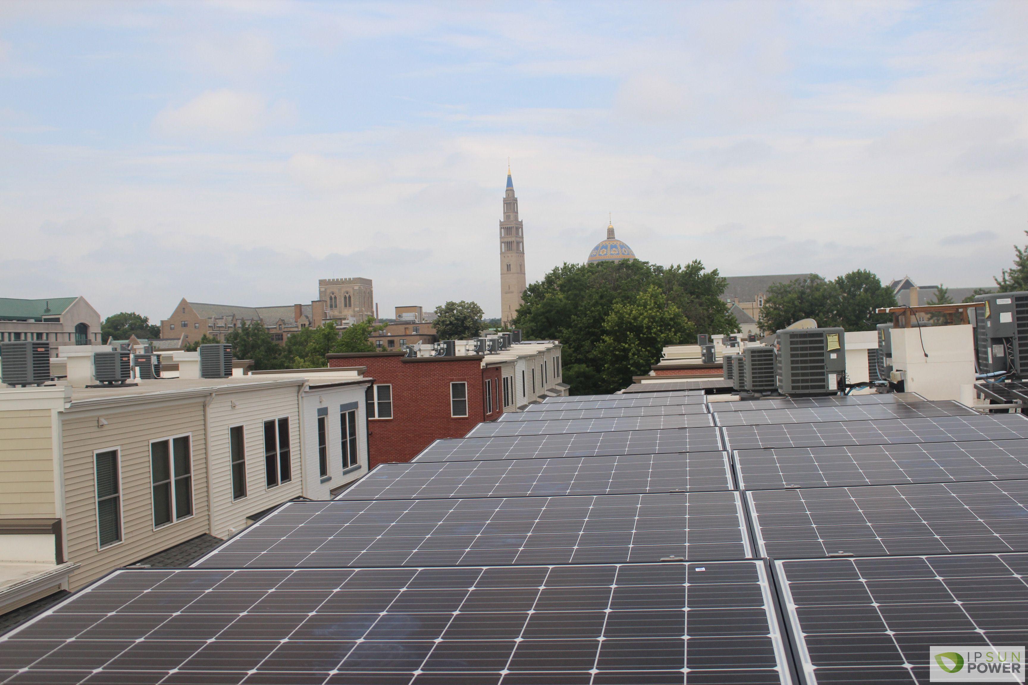 Residential Ballasted Solar System In Washington Dc