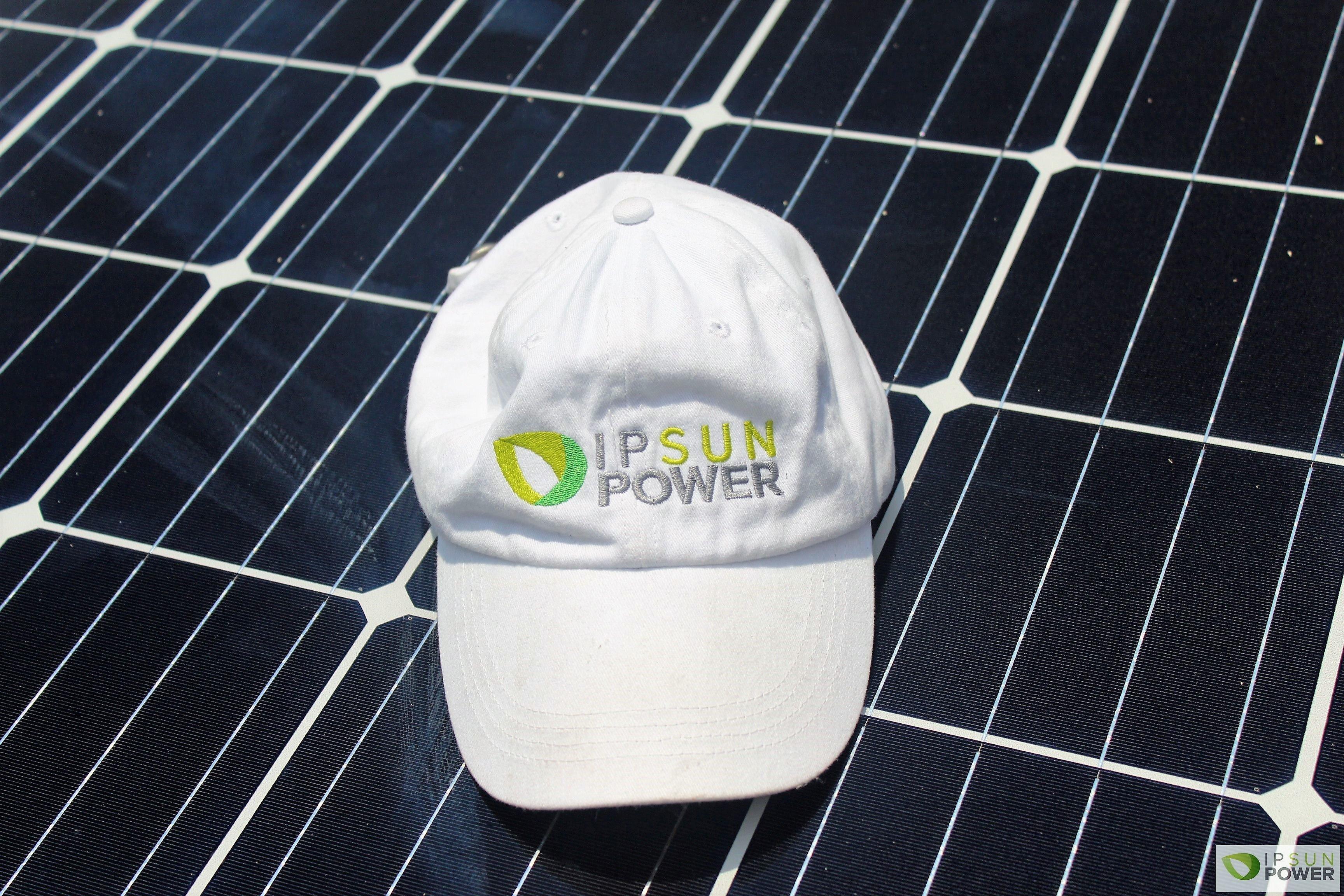 Hat with Ipsun power logo