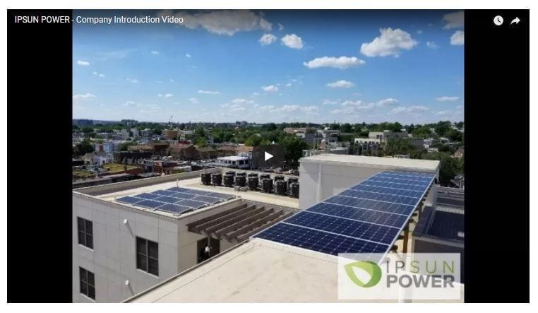 corporate video of Ipsun Power