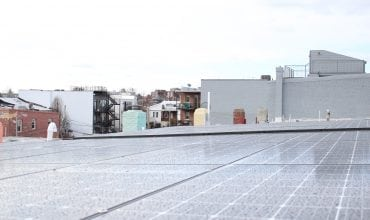 solar panels in Washington DC - parapet 1