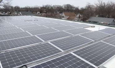 Commercial solar panel - Maryland 1