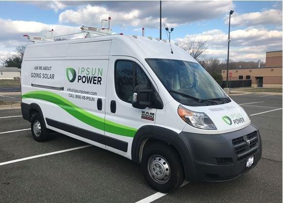 Ipsun Power solar utility van