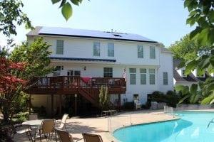 Ipsun Power solar panels installed on roof   Virginia