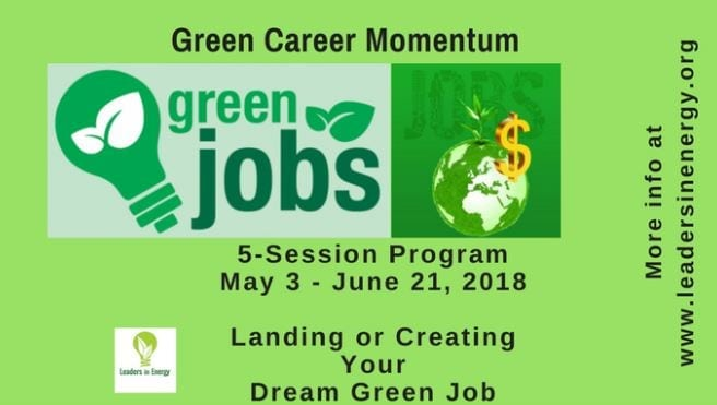 Green Careers - Leaders in Energy