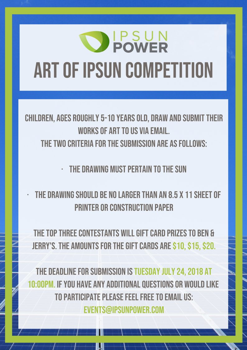 Art of Ipsun Competition