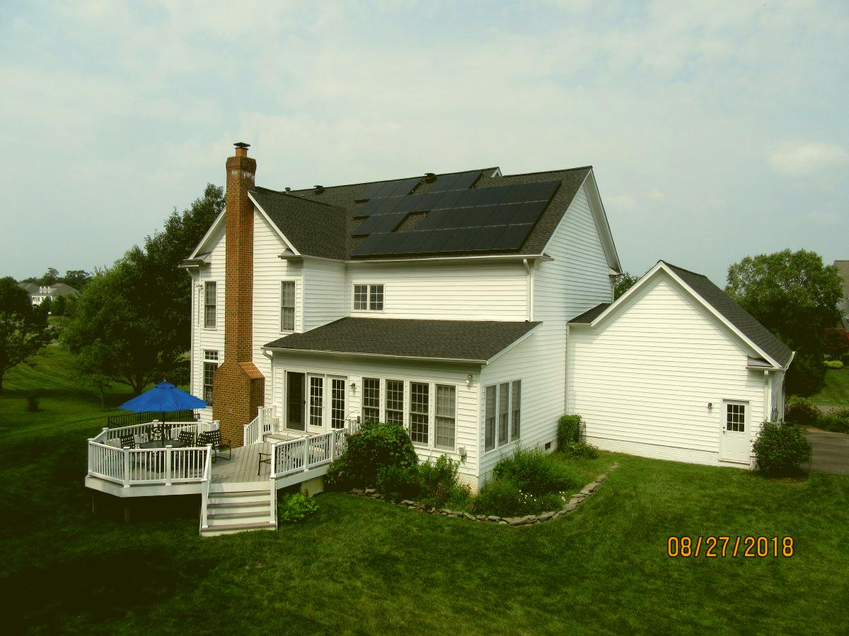 Ipsun Power Solar panels in VA