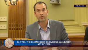 Ipsun Power CEO Herve Billet Testimony Clean Energy Bill Video
