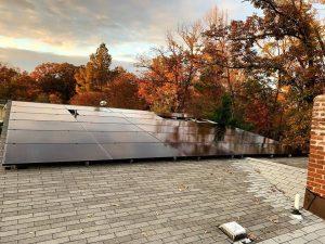 solar home - all black solar panels v2