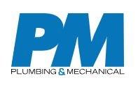 P&M - Plumbing and mechanical logo
